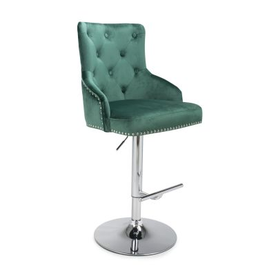 Chaise Green Velvet Bar Stool Retro Furniture £ 168.00 Store UK, US, EU, AE,BE,CA,DK,FR,DE,IE,IT,MT,NL,NO,ES,SE