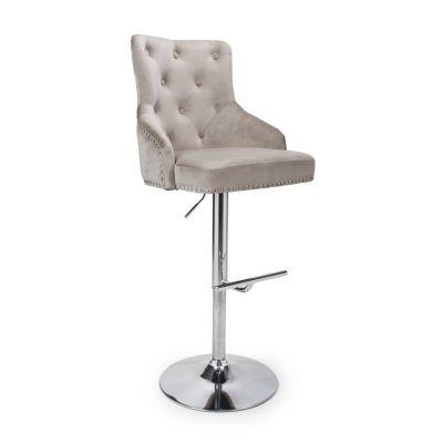 Chaise Velvet Bar Stool