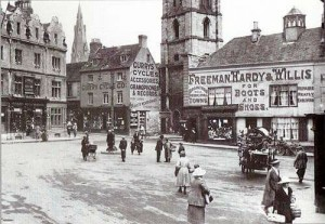 old photos stamford town centre