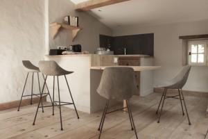 concrete bar stool