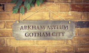 batman wall sign