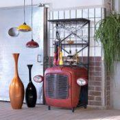 repurposed tractor furniture