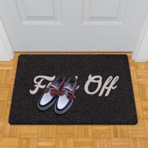 fuck off doormat