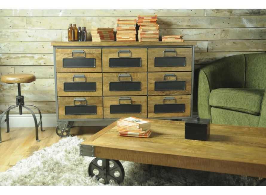 Living Room Furniture   Reclaimed Wood, Cool, Retro, Industrial, UK
