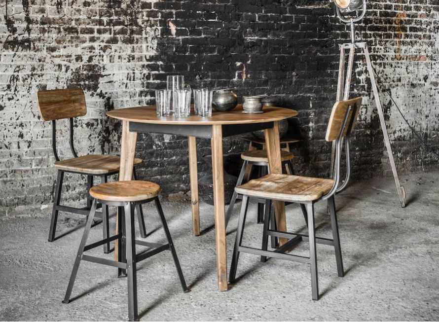 Reclaimed Wood Dining Table | Industrial & Vintage Designer UK