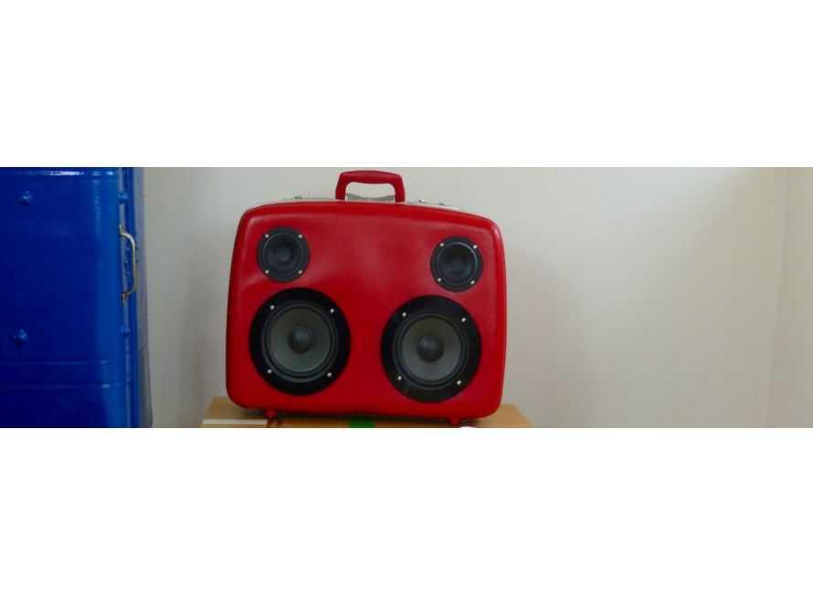 Boombox Speaker Suitcase Uk