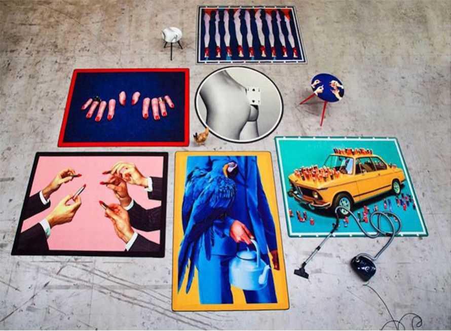 Retro Rugs & Cool Funky Design Carpets  UK, US