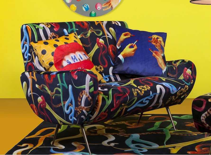 Shop Retro, Modern,  Decorative, Funky Cushions Online Uk
