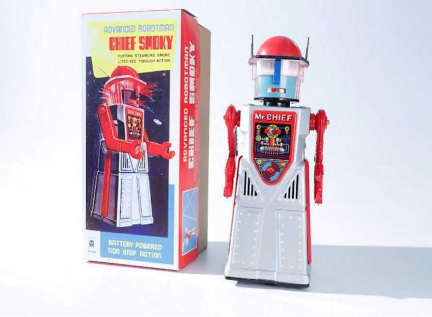 Robots * Retro * Antique * Vintage * REPRODUCTION